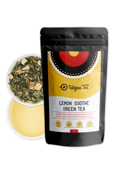 Buy Lemon Soothe Green Tea - 100 Gram