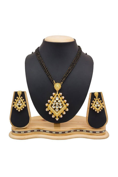 Buy Women's Alloy Mangalsutra in Gold Online