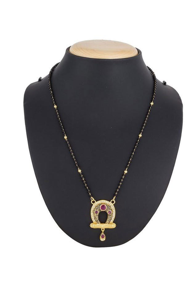 Women's Alloy Mangalsutra in Multicolor