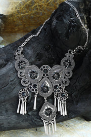 Women's Alloy Necklace in White