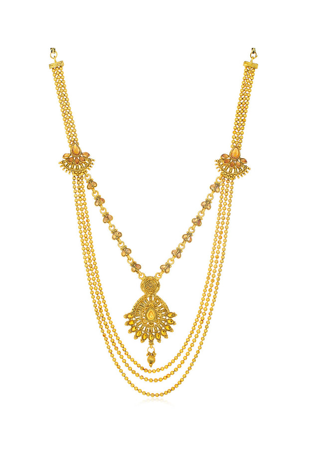 Sukkhi Alloy Necklace in Gold