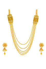 Alloy Necklace Set in Gold