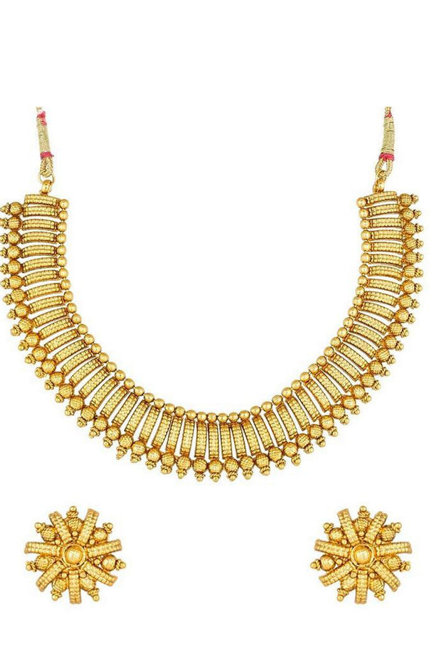 Buy Women's Alloy Necklace in Gold Online