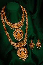 Buy Women's Alloy Necklace Set in Gold Online