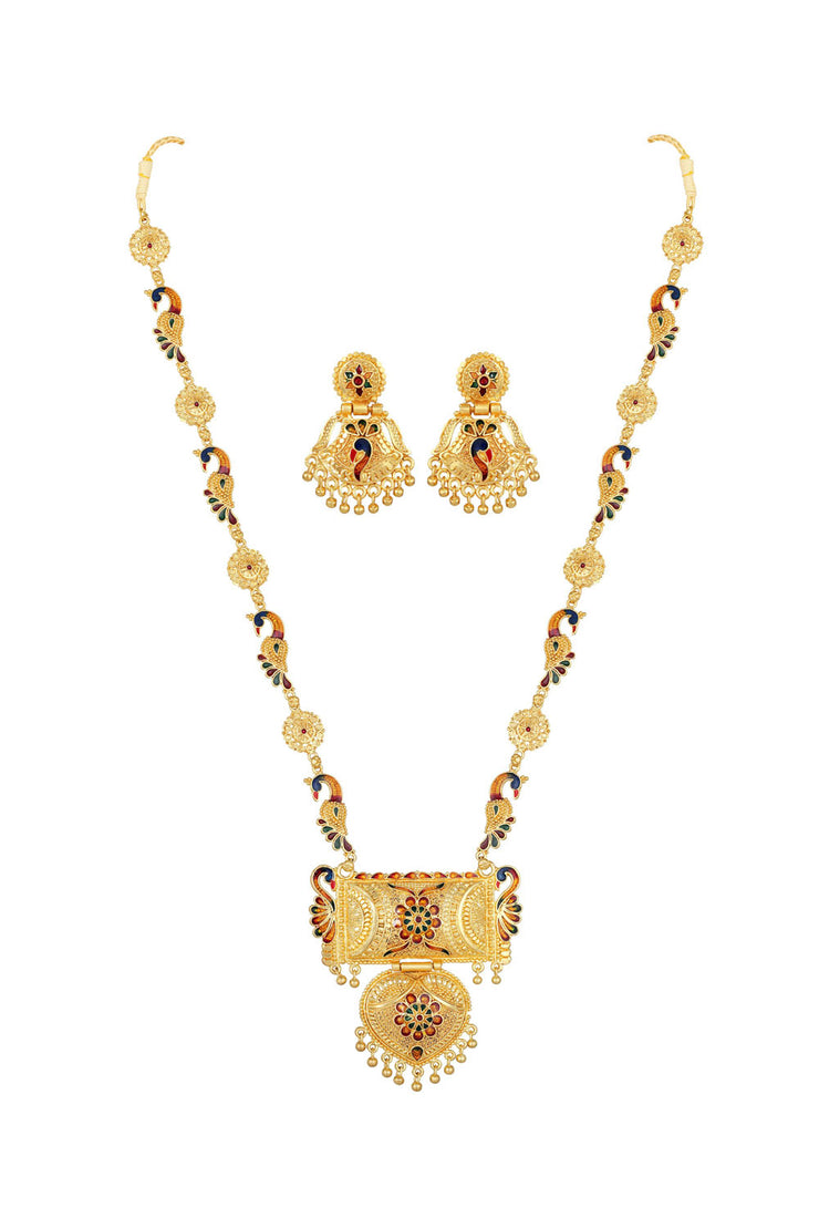 Women's Alloy Necklace set in Gold