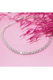 Women's Sterling Silver Anklet in Silver