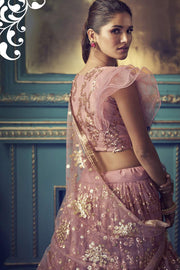 Shop Zari Work Lehenga Choli Online