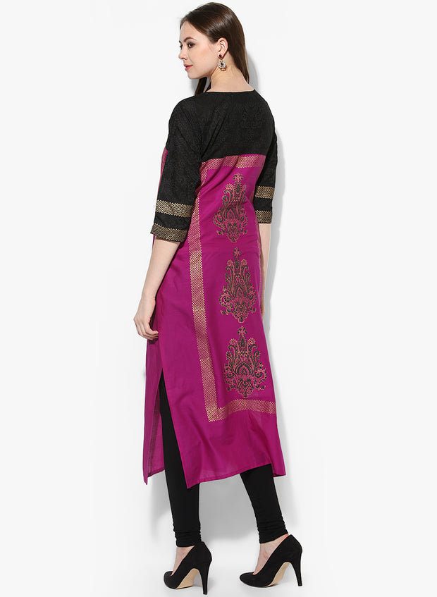 Purple Kurta For Women Online