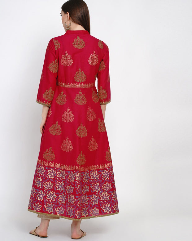 Latest Long Kurti Design