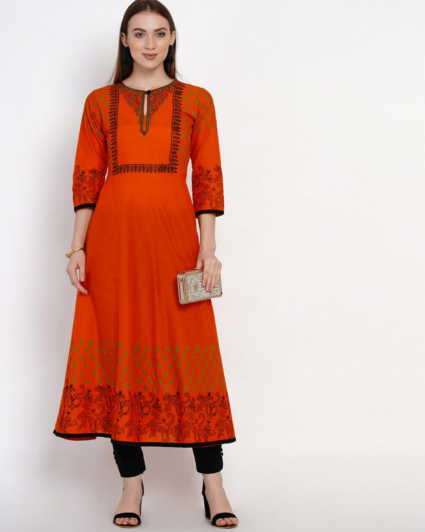 Anarkali Kurti For Women Latest Design
