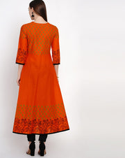 Anarkali Kurti Cotton For Women