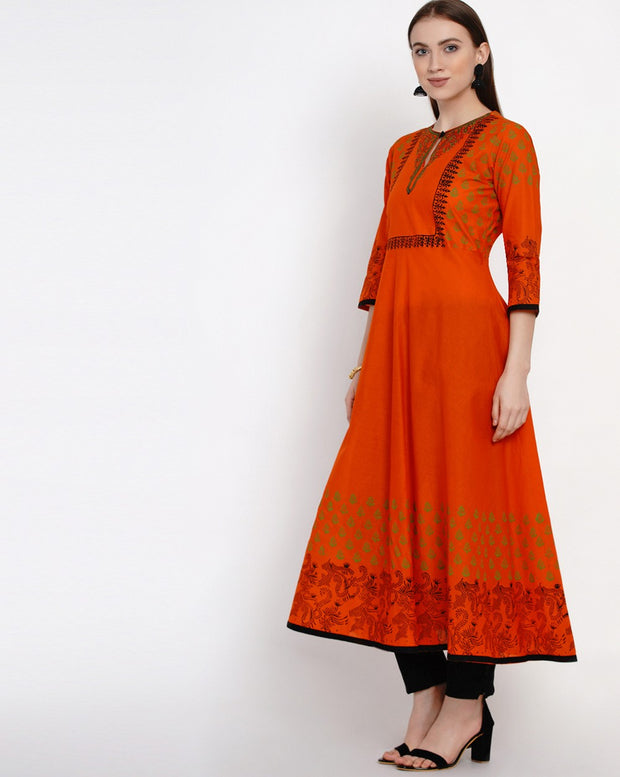 Anarkali Kurti Ethnic Wear