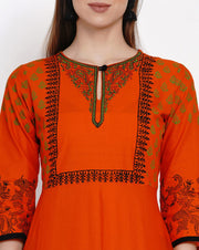Long Anarkali Kurti For Women