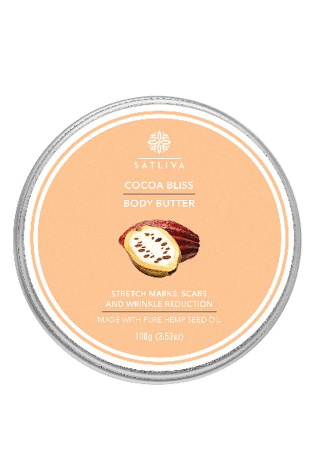 Cocoa Bliss Body Butter With Peppermint - 100 grams