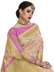 Women's Banarasi Art Silk Saree