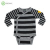 Villervalla - Wrap Body Suit - Stripes - Night