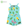PRICE DROP * Villervalla - Jumpsuit - Tropical Fruits - Light Bay