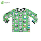 Villervalla - Combi Campervan - L/S Tee - Meadow Green ** LAST ONE sz 110