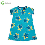 Villervalla - SS Dress - Stars - Riviera Blue