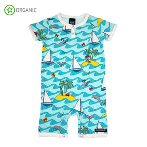 PRICE DROP * Villervalla - Summer Suit - Caribbean - Bay