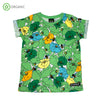 PRICE DROP * Villervalla - Poppy - S/S tee - Meadow Green