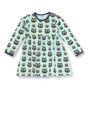 PRICE DROP * JNY - L/S Sweetdress - Family Owl