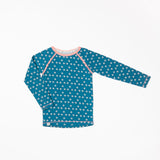 Alba - Ghita LS tee - Seaport Mini Hearts