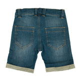 Villervalla - Capri Shorts - Sweat Denim - Used Vintage