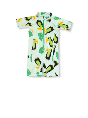 JNY - SS UV Swimsuit - Aloha Toucan