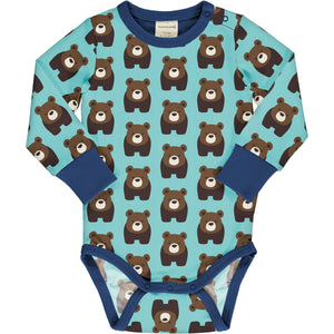 Maxomorra - LS Bodysuit - Bear