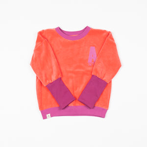 Alba - My Favourite Sweater - Sun Kissed Coral