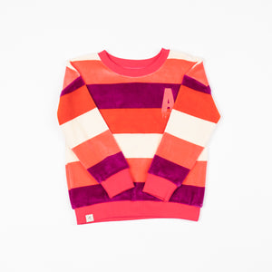 Alba - My Favourite Sweater - Wild Aster Love Stripe