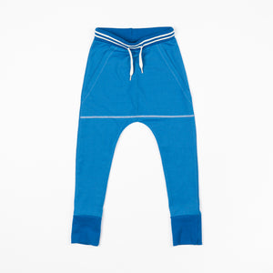 Alba -  Classic Everyday Pants - Snorkel Blue