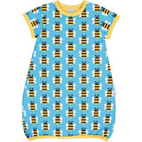 Maxomorra - SS Bubble Dress - Humble Bumblebee