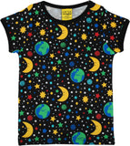 Duns Sweden SS Tee - Mother Earth - Black