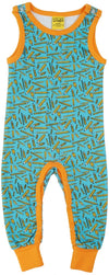 Duns Sweden Dungarees - Pencil - Turquoise