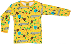 Duns Sweden l/s tee - A Dog's Life Yellow
