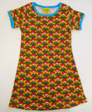 Duns Sweden SS dress - Mustard Yellow Radishes