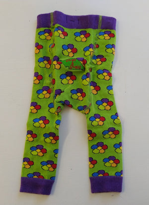 Slugs & Snails - Footless Tights - Rainbow Flower