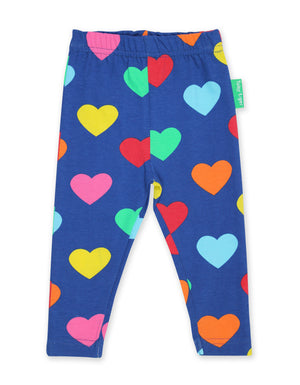 Toby Tiger - Leggings - Multi Heart ** LAST SZ 92cm