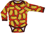 Duns Sweden LS body suit - Sandwiches - Red