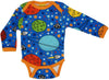 DUNS Sweden LS body suit - Space - Blue