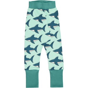 Maxomorra - Drop Crotch Pants - Shark