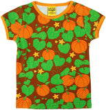 Duns Sweden SS tee - Pumpkins - Brown