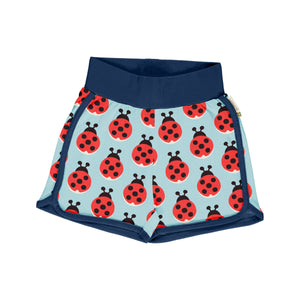 Maxomorra - Runner Shorts - Lazy Ladybug
