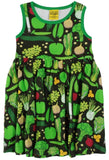 Duns Sweden Sleeveless Dress with Gathered Skirt - Eat Your Greens