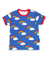 Toby Tiger - SS Tee - Multi Rainbow