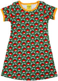 Duns Sweden SS dress - Green Radishes