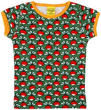 Duns Sweden SS tee - Radishes - Dark Green