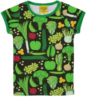 PRICE DROP * Duns Sweden SS Tee - Eat Your Greens